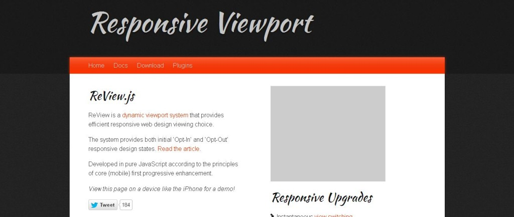 ReView_ The Responsive Viewport