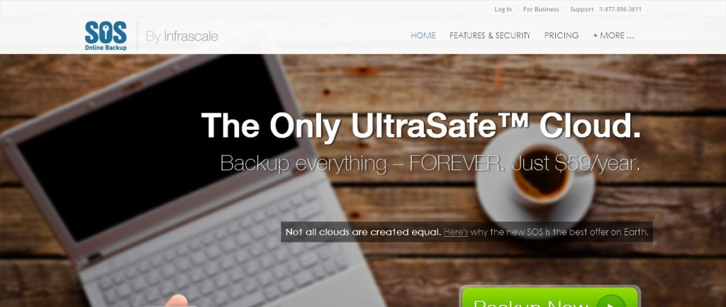 SOS Online Backup I Infinite Cloud Storage, Encrypted Automatic Backup