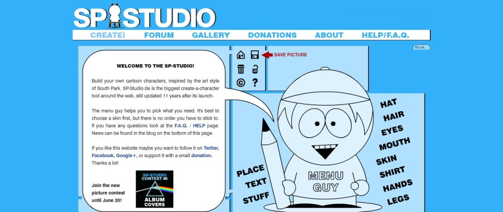 SP-Studio Cartoon Maker
