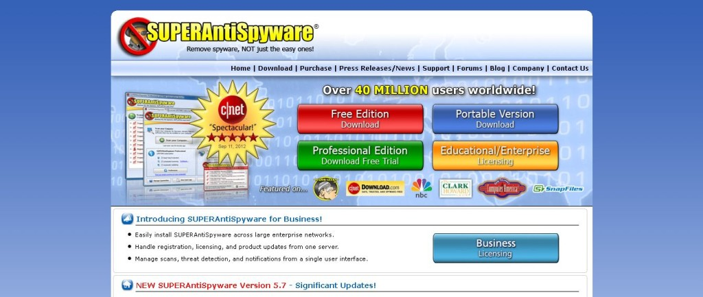 SUPERAntiSpyware I Remove Malware I Remove Spyware