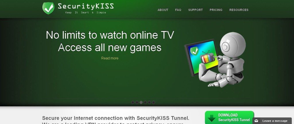 SecurityKISS - Free VPN Service