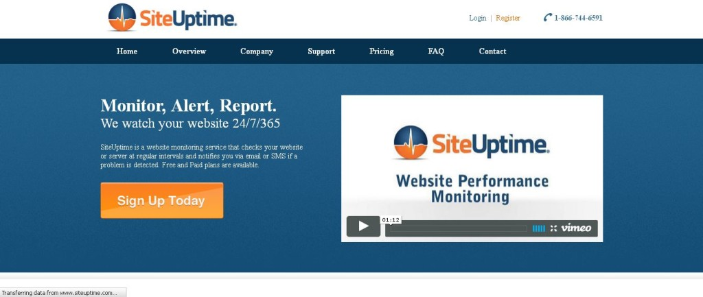 SiteUptime - Website Monitoring Service