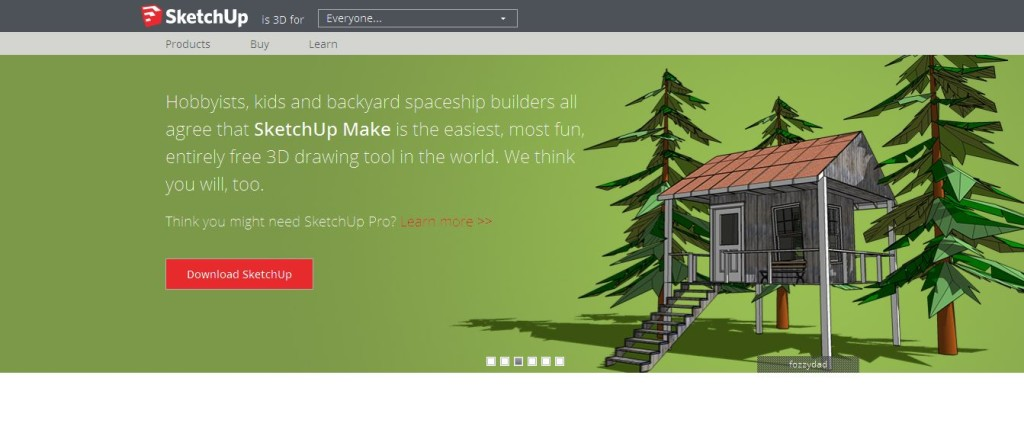 SketchUp Make CAD Software