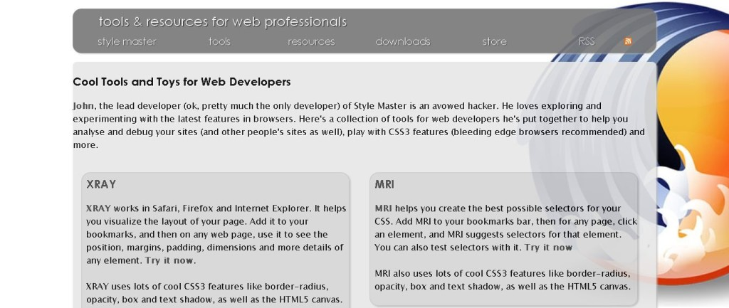 Style Master CSS Editor for Windows and Mac OS X