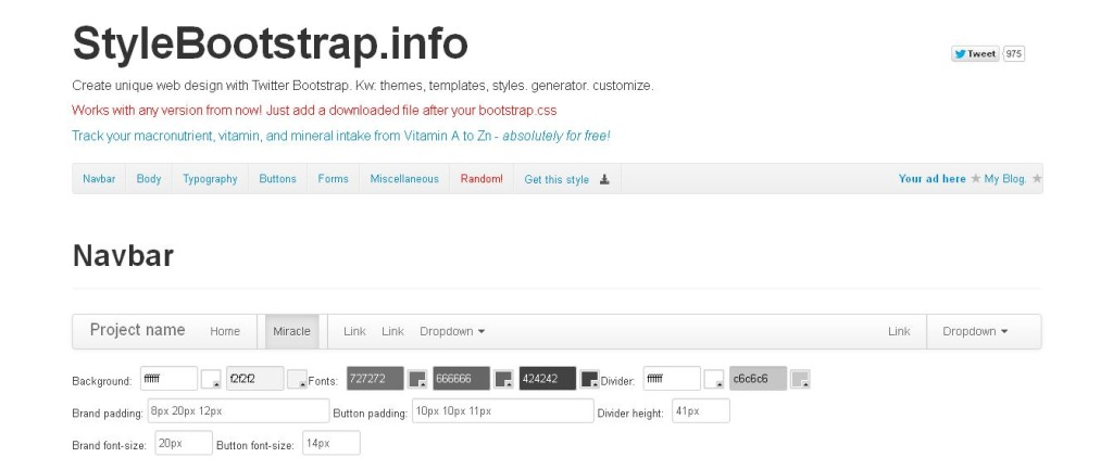 StyleBootstrap_info_ Twitter Bootstrap theme generator