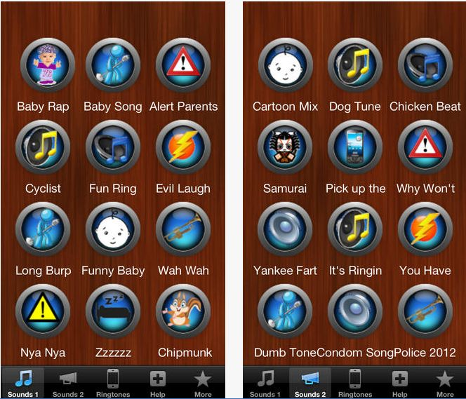 Top Funny Ringtones on the App Store on iTunes