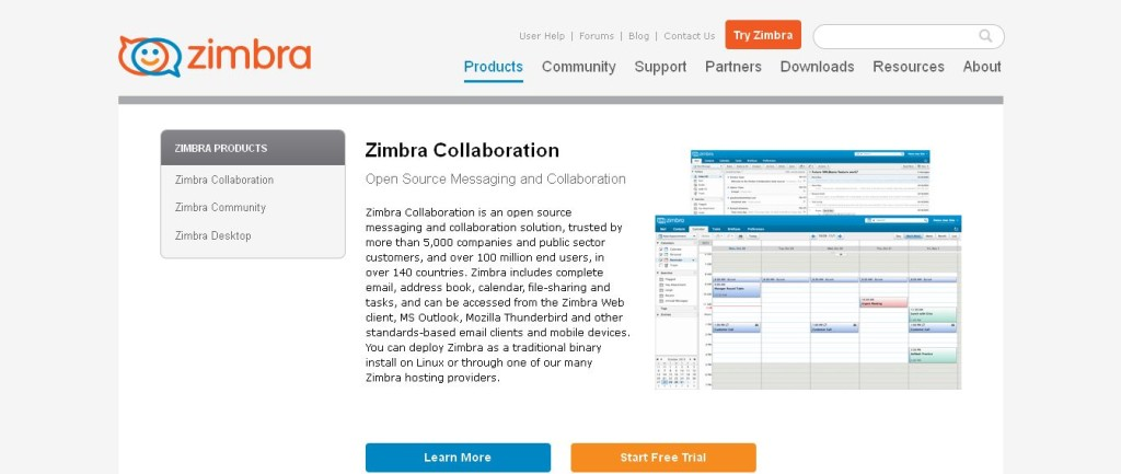 Unified Collaboration and Community Software for Social, Mobile and the Cloud - Zimbra Products