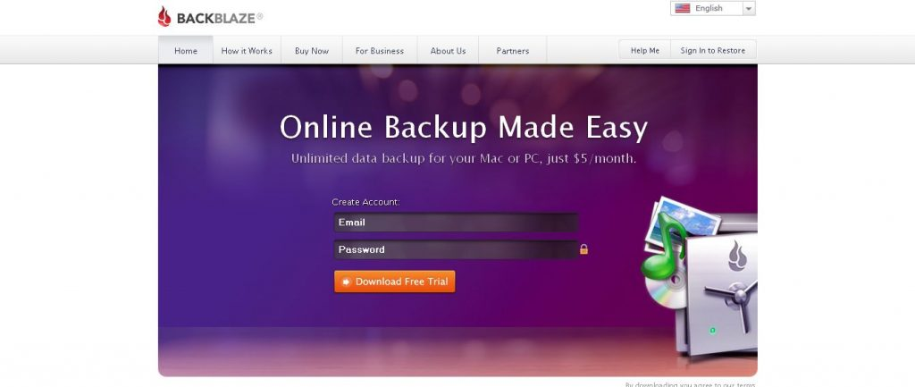 Unlimited Online Backup - Easy, Secure Online Backup Services Backblaze