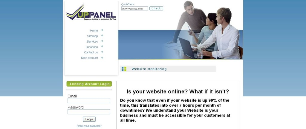 UpPanel _ Website Monitoring