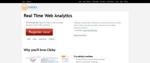Web Analytics in Real Time I Clicky
