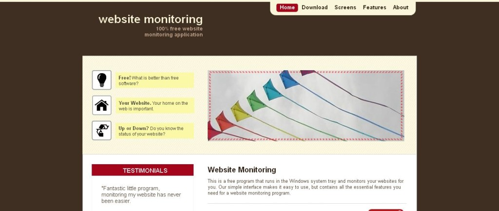 Website Monitor Program Free I Monitor Your Website Uptime