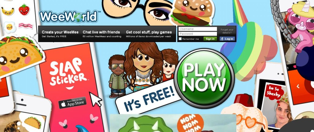 WeeWorld - WeeMee Avatar Games