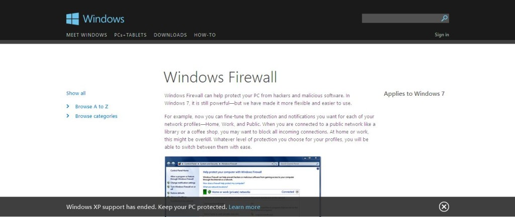 Windows Firewall - Microsoft Windows