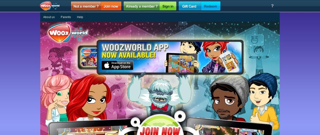 Woozworld - Amazing Virtual World and Social Network for Tweens