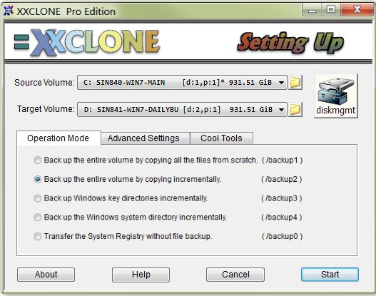 XXCLONE, A New Way of Cloning the Windows System Disk