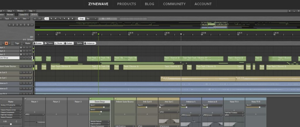 Zynewave Audio Editing