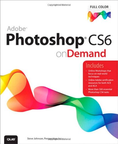 Adobe Photoshop CS6 on Demand Book