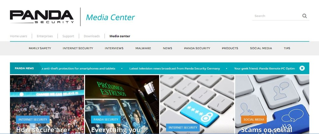 All about Family safety, Malware and Internet Security I Panda Media Center
