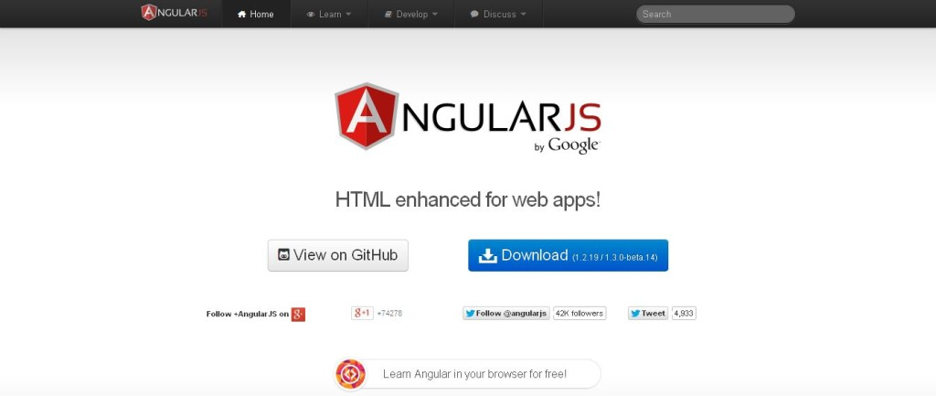 AngularJS — Superheroic JavaScript MVW Framework