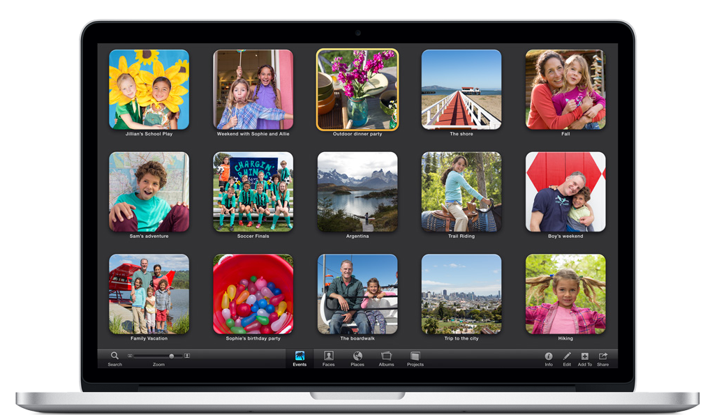 Apple (India) - iPhoto for Mac