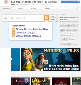 Top 5 Google Chrome Extensions To Track RSS Feeds
