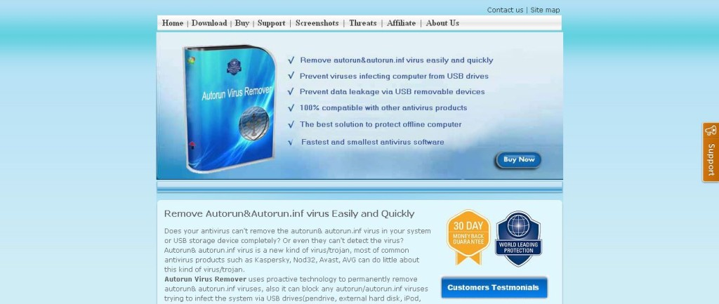 Easy to remove autorun & autorun_inf virus by Autorun Virus Remover