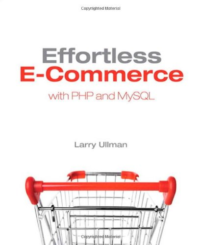 Effortless Ecommerce MySQL Book