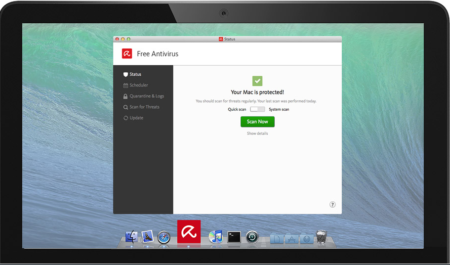 Free Antivirus for Mac - Download the best Mac antivirus