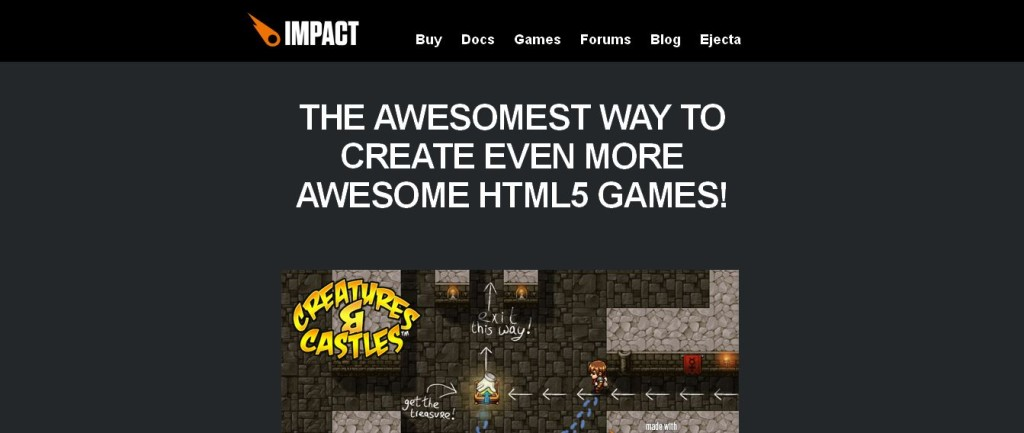 Impact - HTML5 Canvas & JavaScript Game Engine