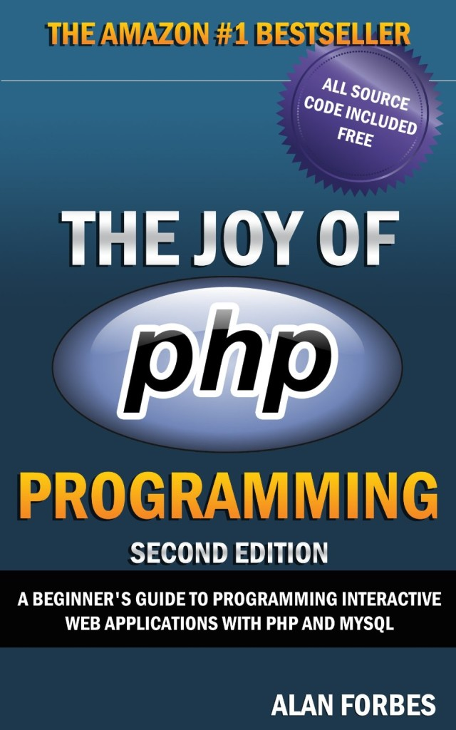 Joy PHP Programming Applications Book