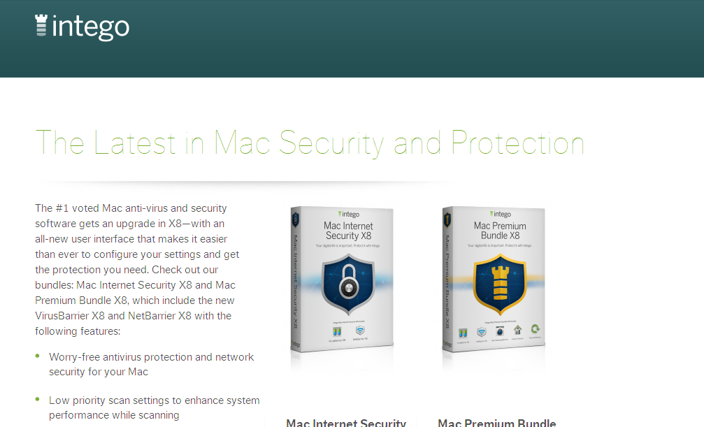 Mac Security Landing Page I Intego Mac Antivirus & Security