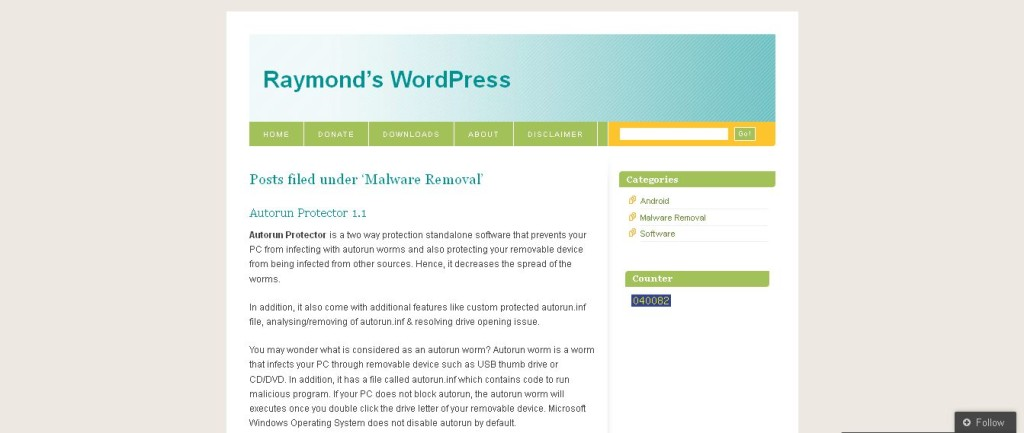 Malware Removal I Raymond's WordPress