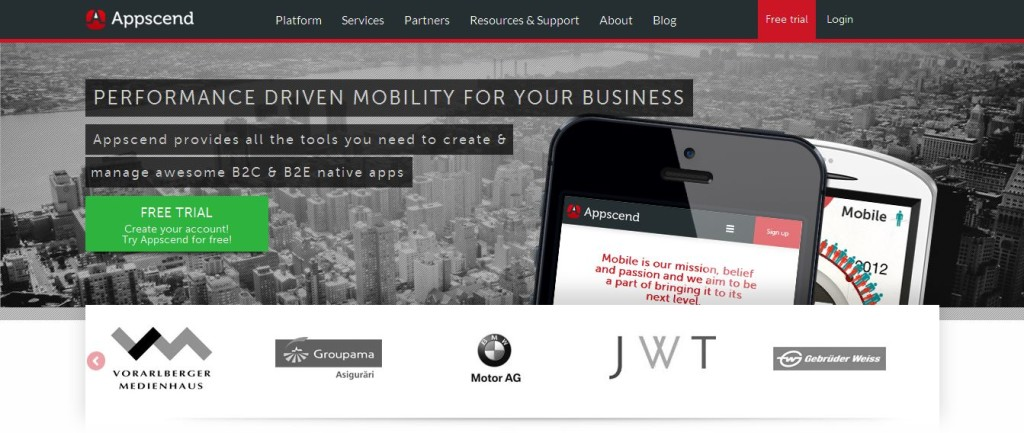 Mobile Application Platform I Mobile Marketing Tools I Appscend