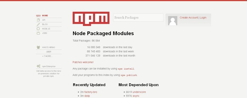 Node Package Module
