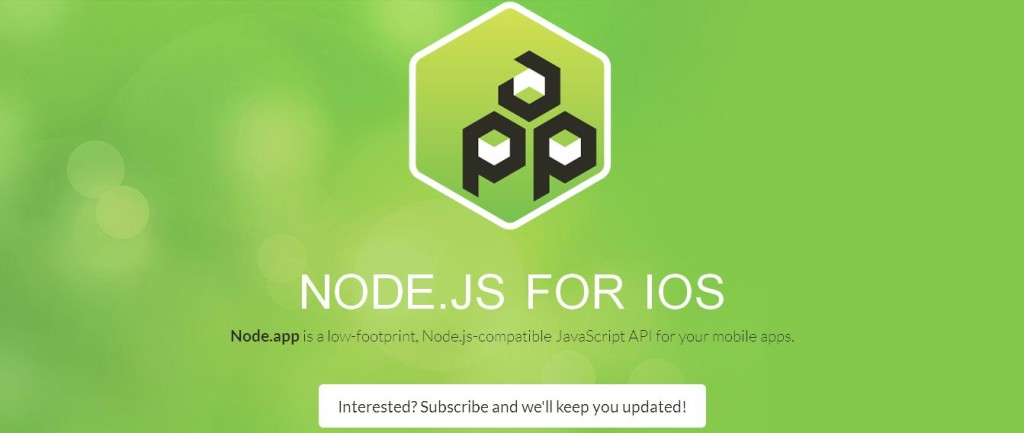 Node_app — Node_js for iOS