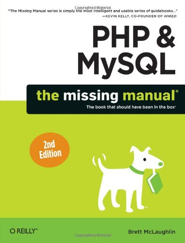 PHP MySQL Missing Learning Book