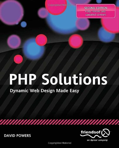 PHP Solutions Dynamic Web Design Book