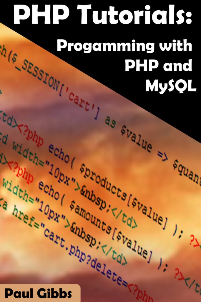 PHP Tutorials Programming MySQL Book