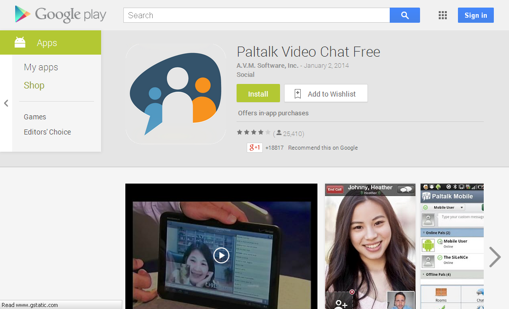 Paltalk Video Chat Free - Android Apps on Google Play