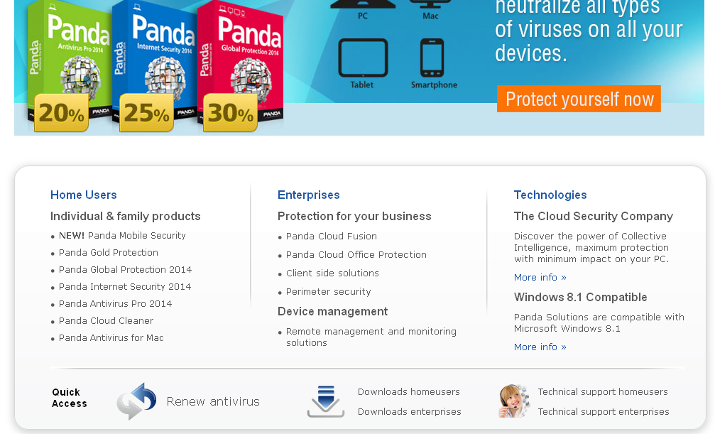Panda Security, the Cloud Security Company I Antivirus I Anti-Spyware I Firewall I Backup I Cloud I Securi