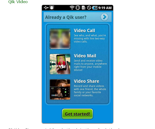 Qik Video Android App-2