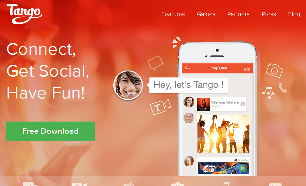 Tango - Free calls and messages everywhere