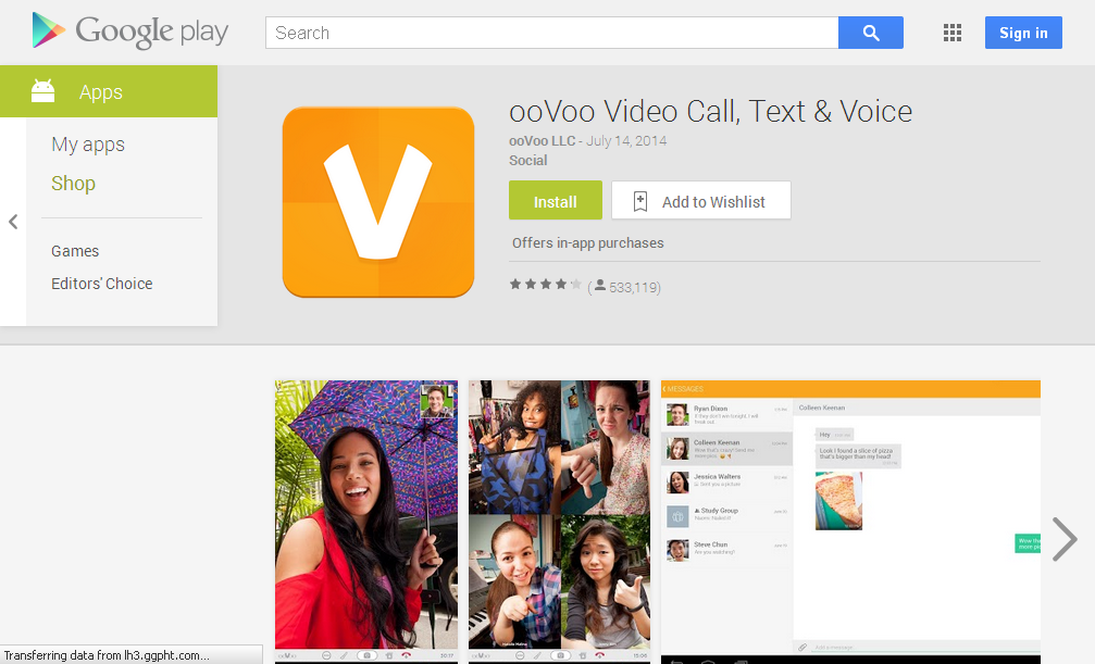 ooVoo Video Call, Text & Voice - Android Apps on Google Play