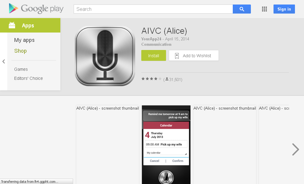 AIVC (Alice) - Android Apps on Google Play