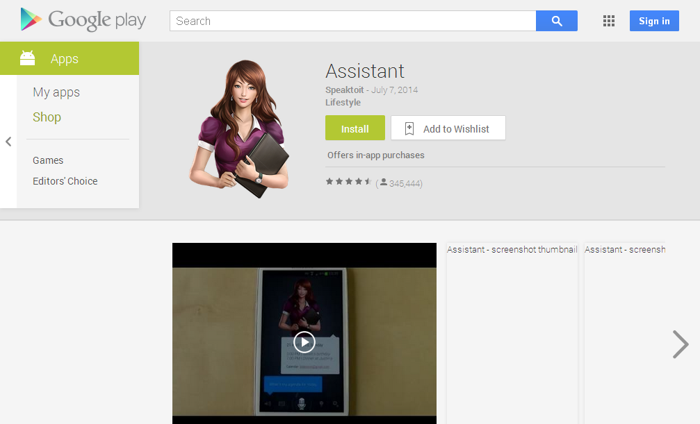 Assistant - Android Apps on Google Play