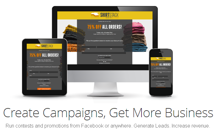 Create web Campaigns, Facebook apps, Facebook contests and custom forms - ShortStack