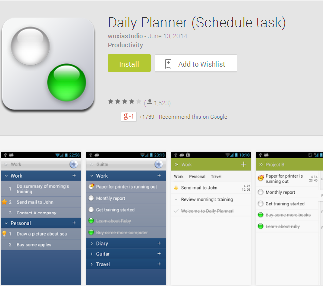 Daily Planner (Schedule task) - Android Apps on Google Play