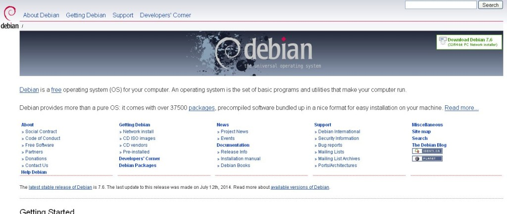 Debian The Universal Operating System