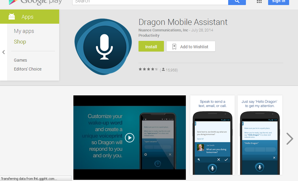 Dragon Mobile Assistant - Android Apps on Google Play