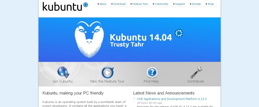 Kubuntu Linux Open Source Friendly Computing